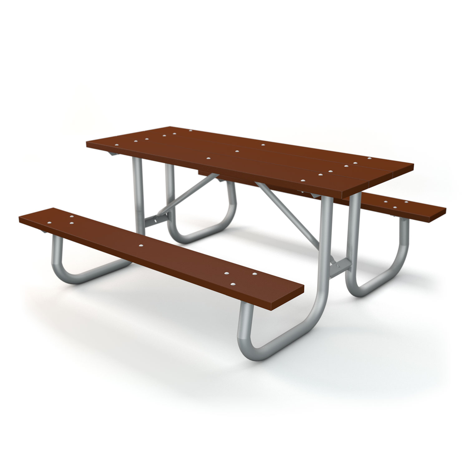 Galvanized Frame Table