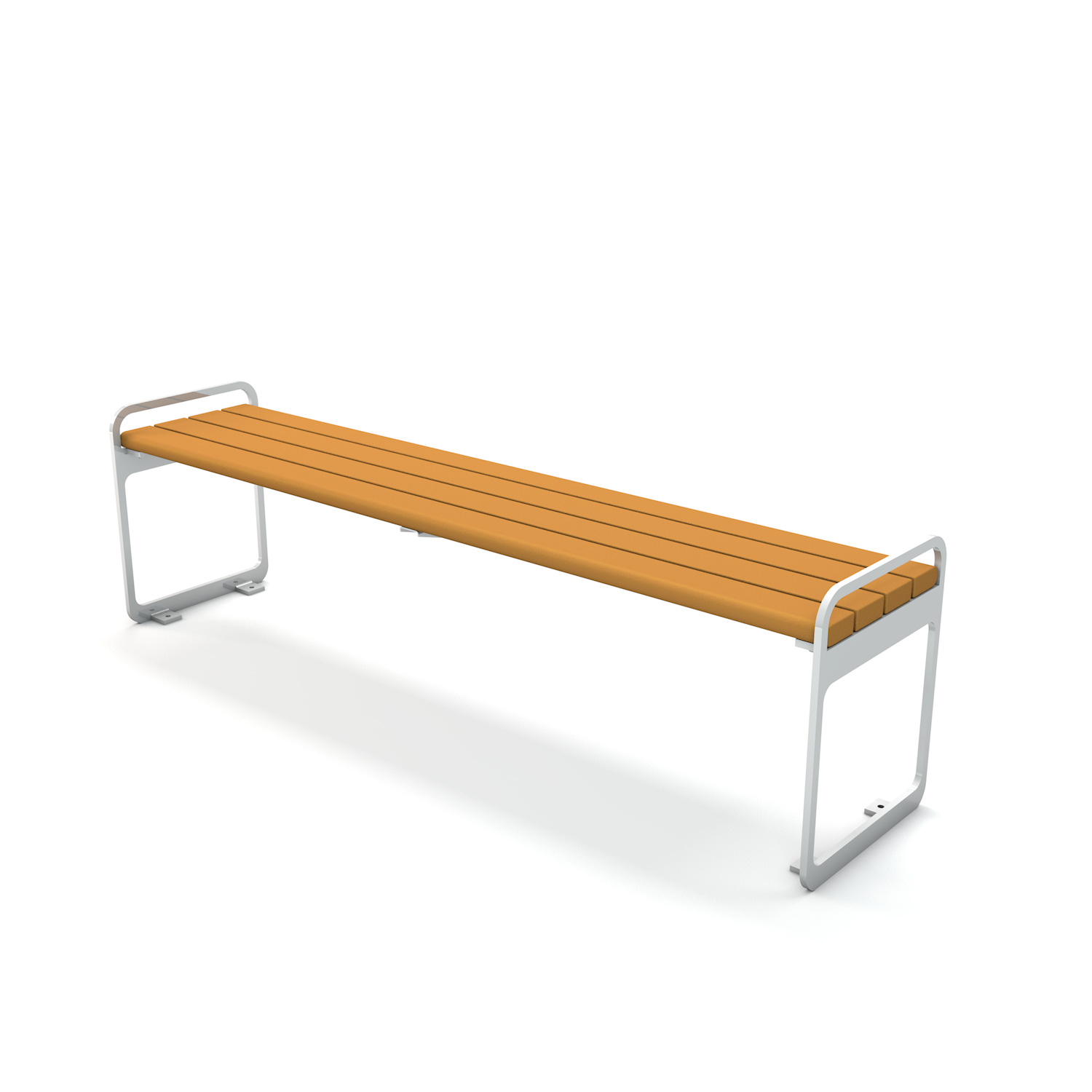 Plaza Backless Bench